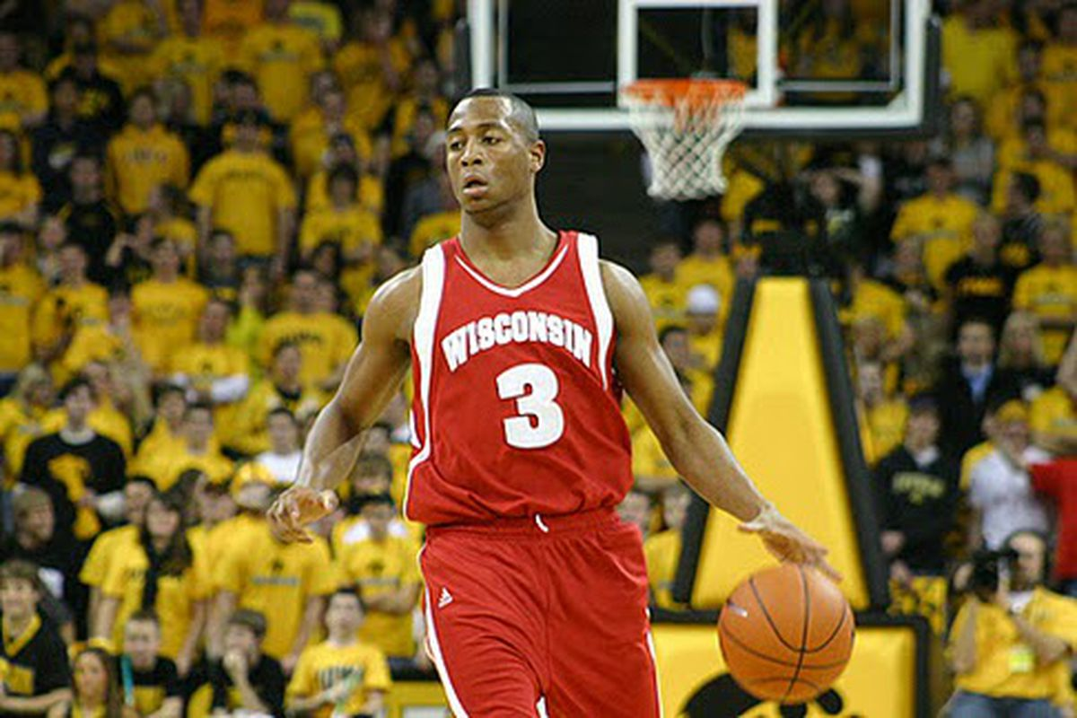 Badger Basketball, what do you make of it? This guy looks harmless enough...right? <em>(Photo by Brian Speers)</em>