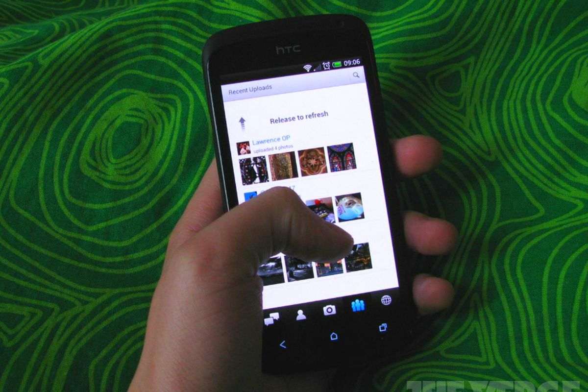 Flickr for Android updated with UI improvements and new