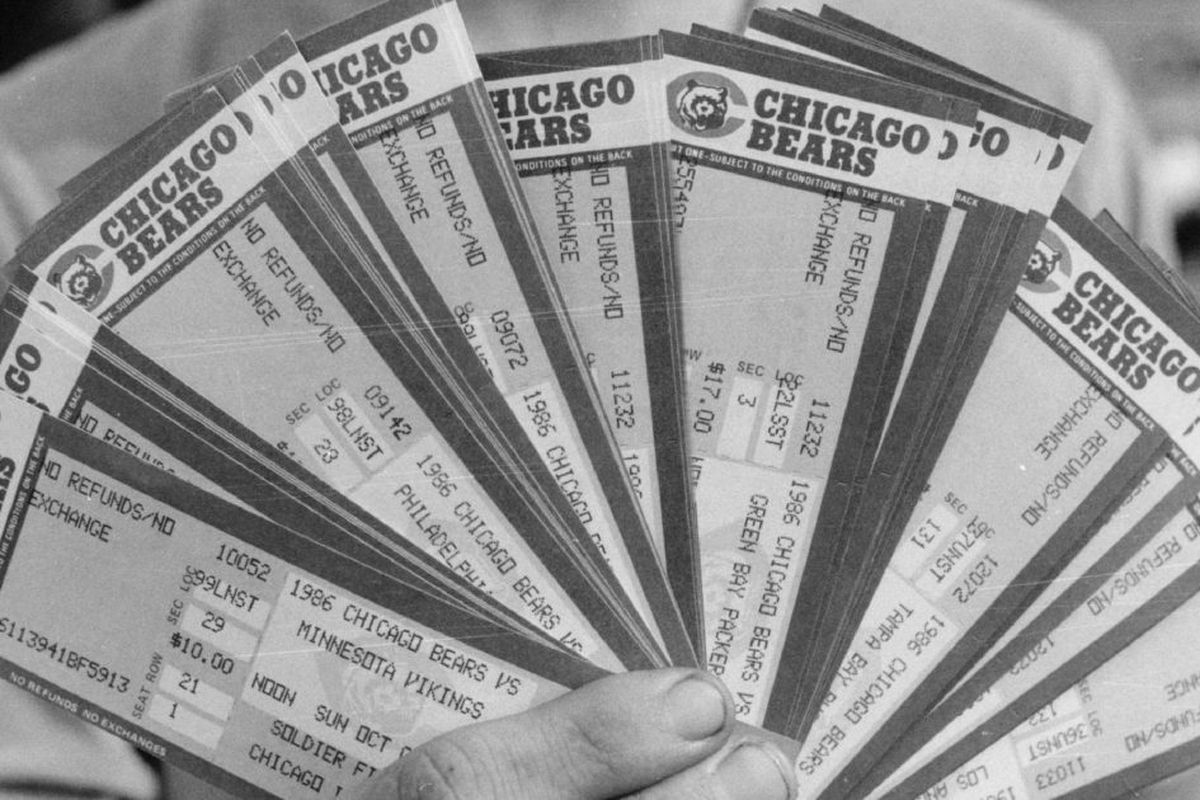 Bears Abandon All Hard Copy Tickets Pivot To Mobile Passes