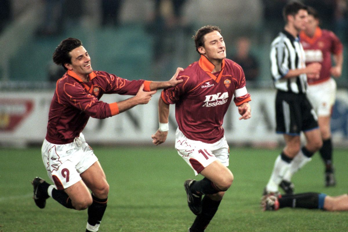 Soccer - UEFA Cup - Third Round First Leg - Roma v Newcastle United