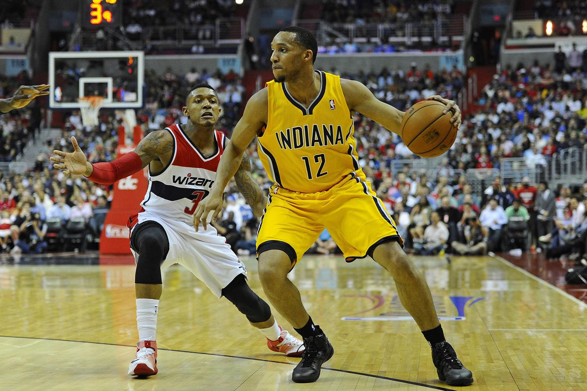 Evan Turner is one of 2 former Big Ten players left in the 2014 NBA Playoffs.