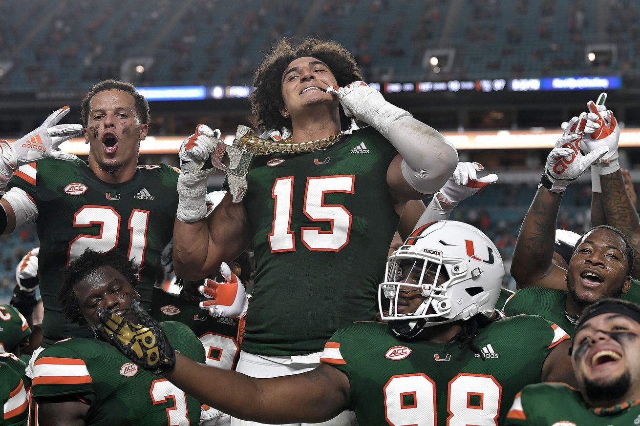 Miami Hurricanes head into bye knowing true test in No. 1 Clemson is on the other side