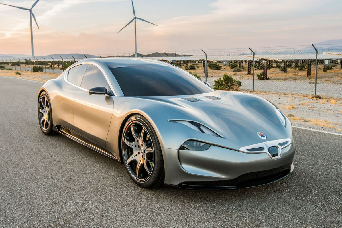 fisker picks ces for new electric car reveal the verge. Black Bedroom Furniture Sets. Home Design Ideas