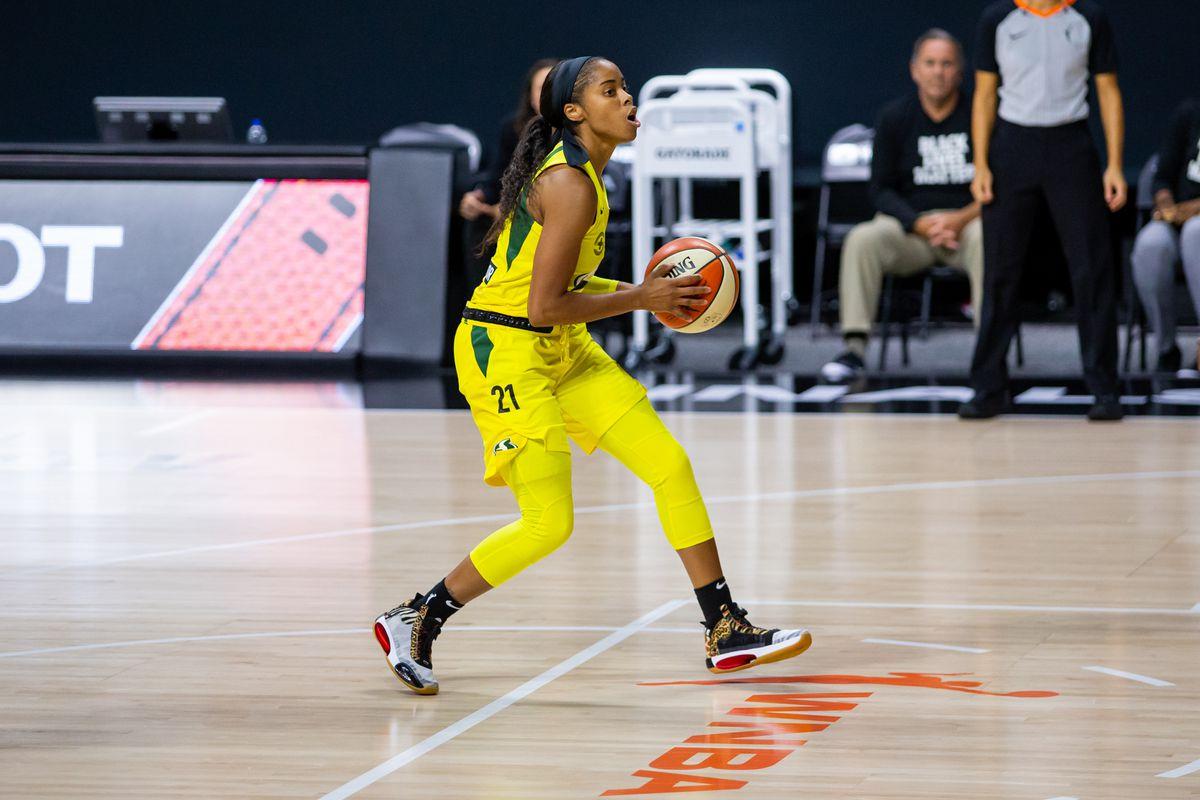 WNBA: Finals-Seattle Storm at Las Vegas Aces