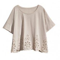 Organic cotton top, $29.95