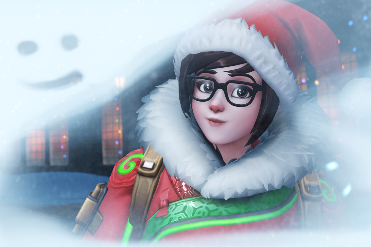 Overwatch\'s Winter Wonderland mega event is coming on December 12th ...