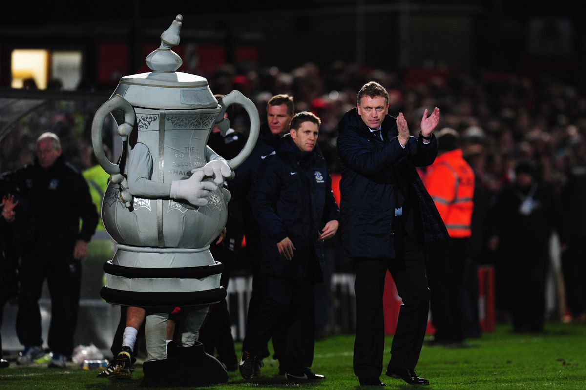 The real question is: will the creepy FA Cup mascot be there?