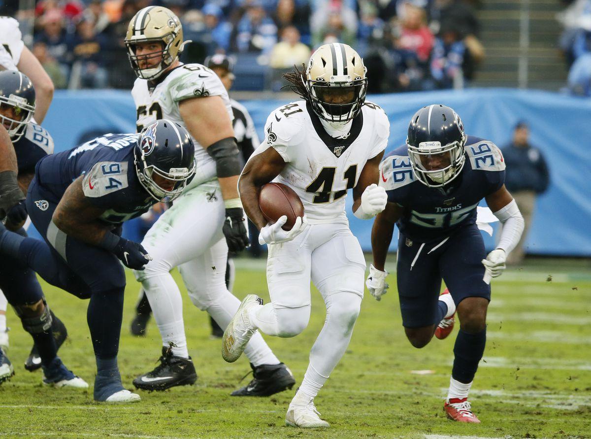 New Orleans Saints vTennessee Titans