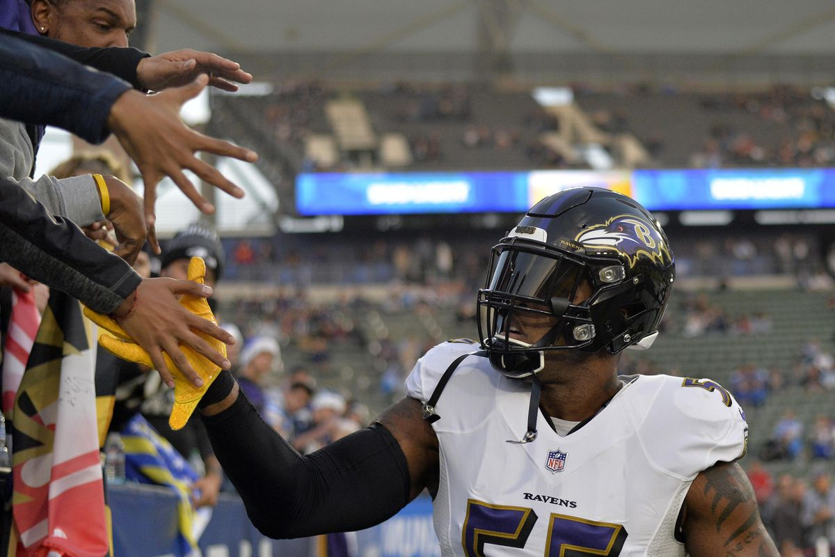 Former Baltimore Ravens LB Terrell Suggs discusses his departure on ... ceea23bd4