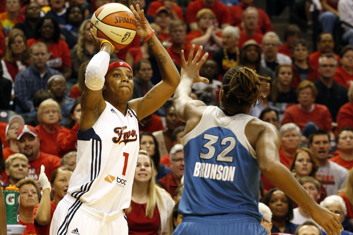 2012 WNBA Finals opponents Rebekkah Brunson and Shavonte Zellous have both earned spots on the 2013 All-Star team.