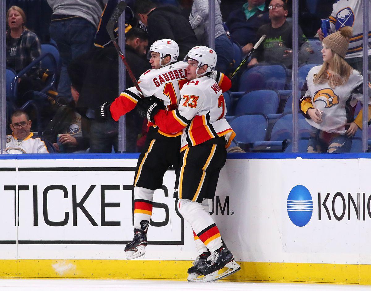 Calgary Flames v Buffalo Sabres