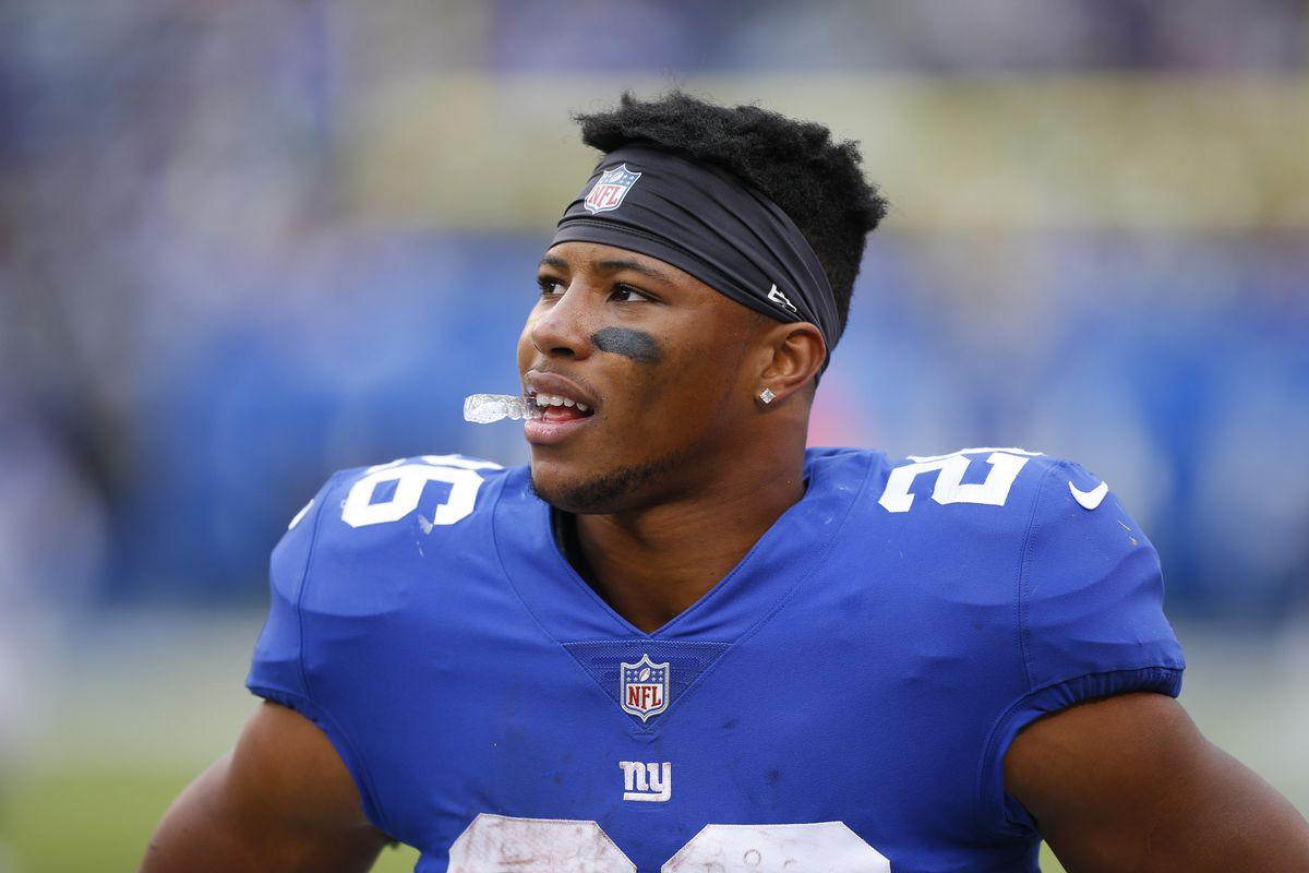 Giants  RB Saquon Barkley fifth in Pro Bowl voting - Big Blue View dec591b7d