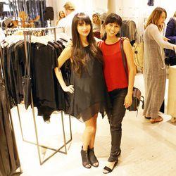 Racked LA editor Natalie Alcala and Racked LA associate editor Danielle Directo-Meston.