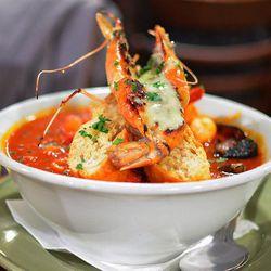 Cioppino Con Crostone at Colori Kitchen by Darin Dines