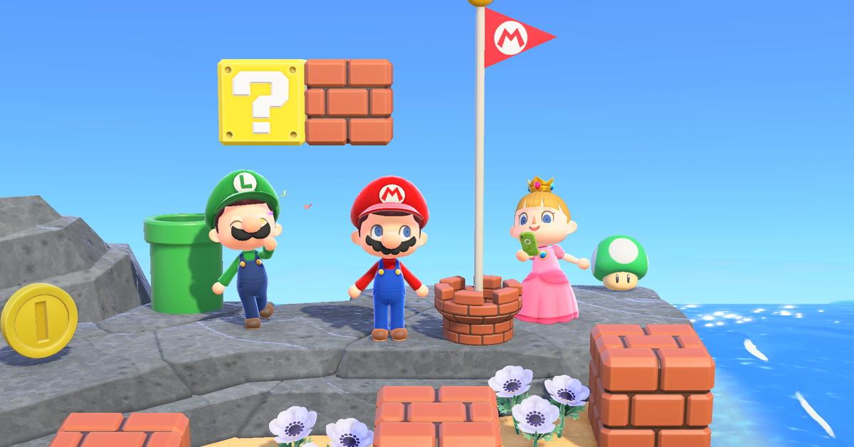 Animal Crossing fans are using Mario's warp pipe in brilliant ways - Polygon