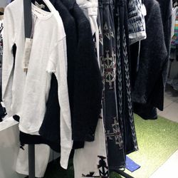 Just a few tops, pants, shorts and coats for kids at H&M Americana.