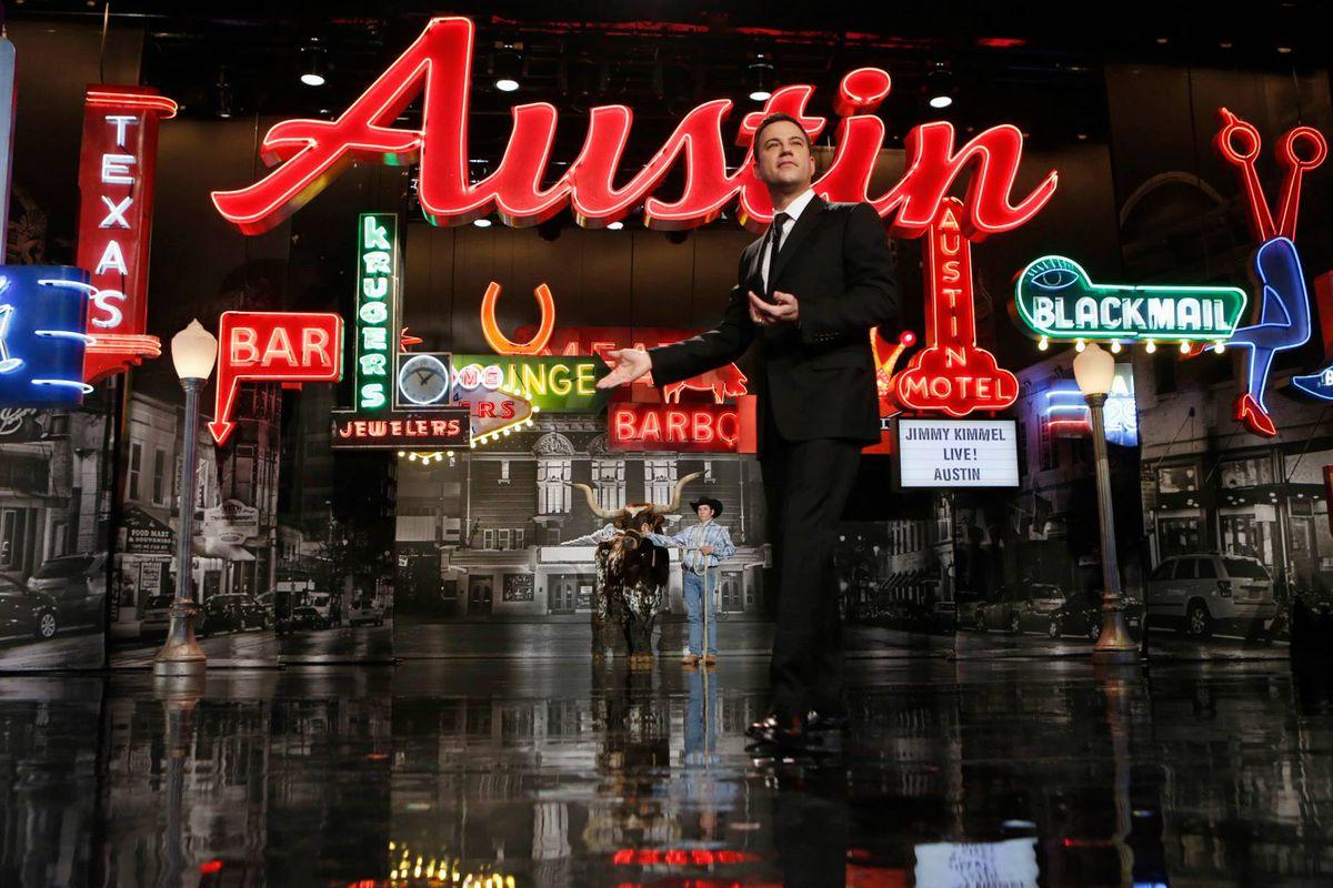 Jimmy Kimmel in Austin