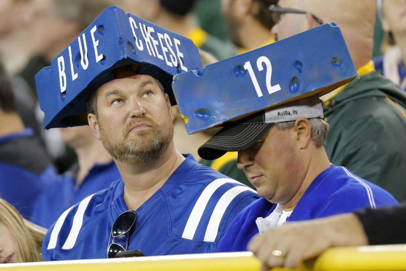 NFL: NOV 06 Colts at Packers