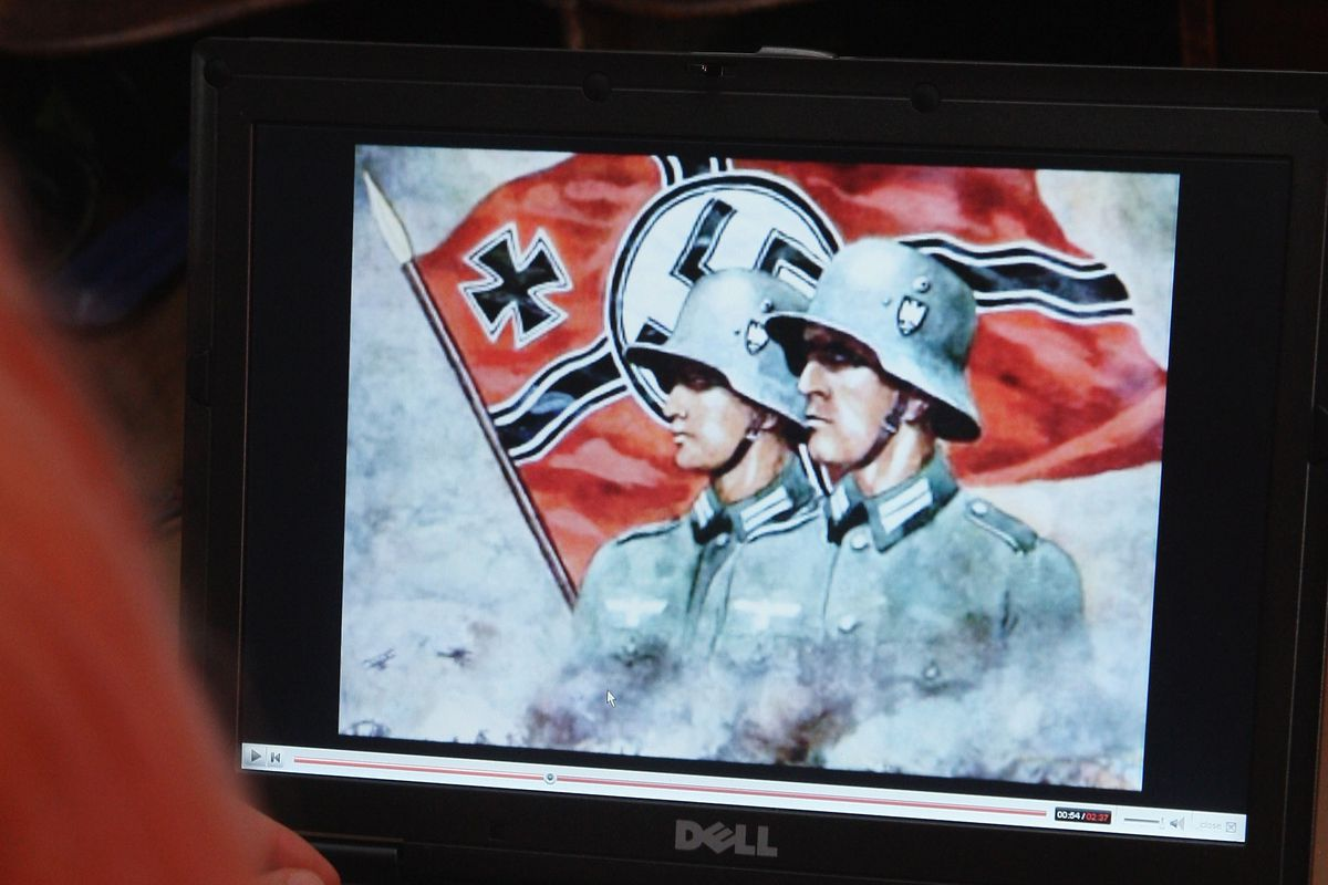 Neo-Nazis Using YouTube for Propaganda