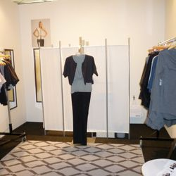 Killion from Chicago - the only fitting room in the house.