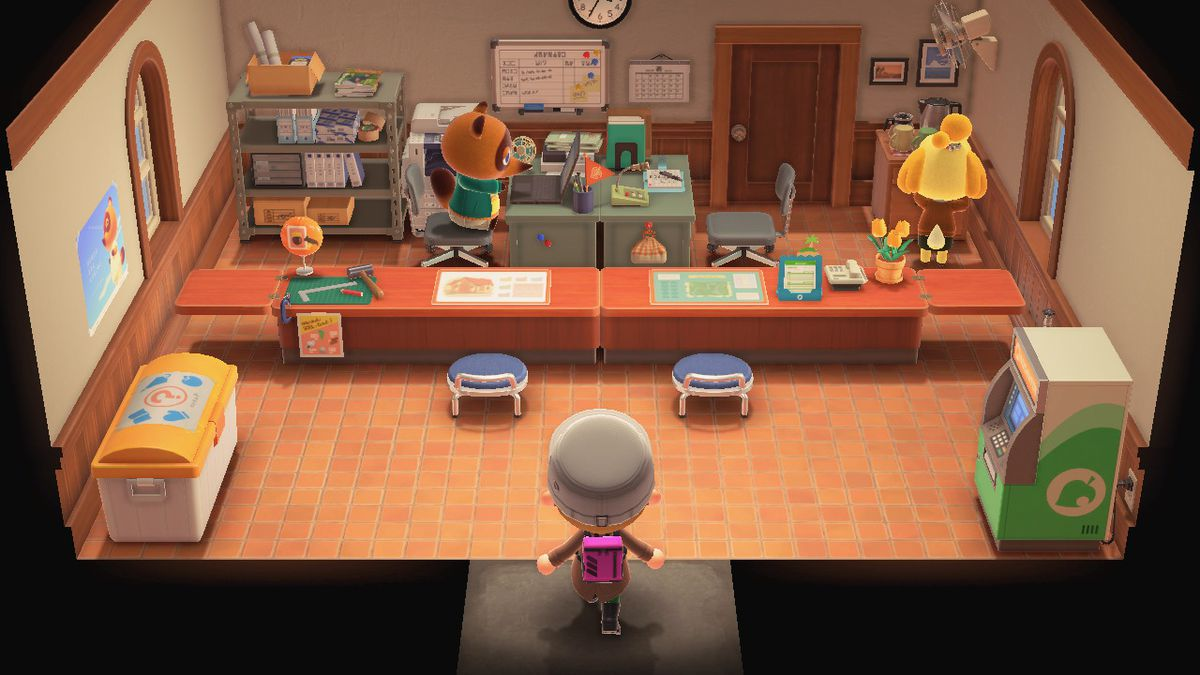 The Resident Services building in Animal Crossing New Horizons