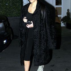 Kim Kardashian at Epione in Beverly Hills. Photo: Fame Flynet