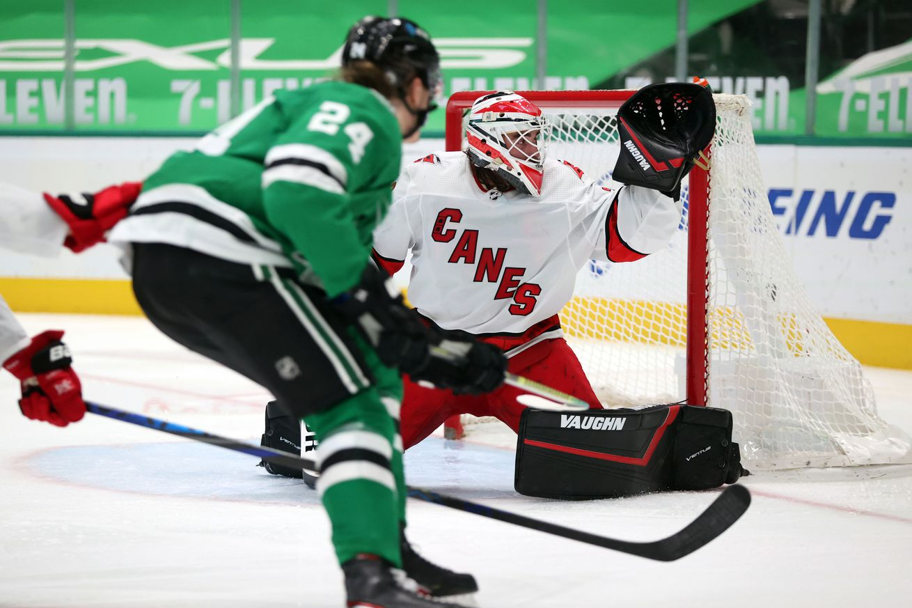 Carolina Hurricanes v Dallas Stars