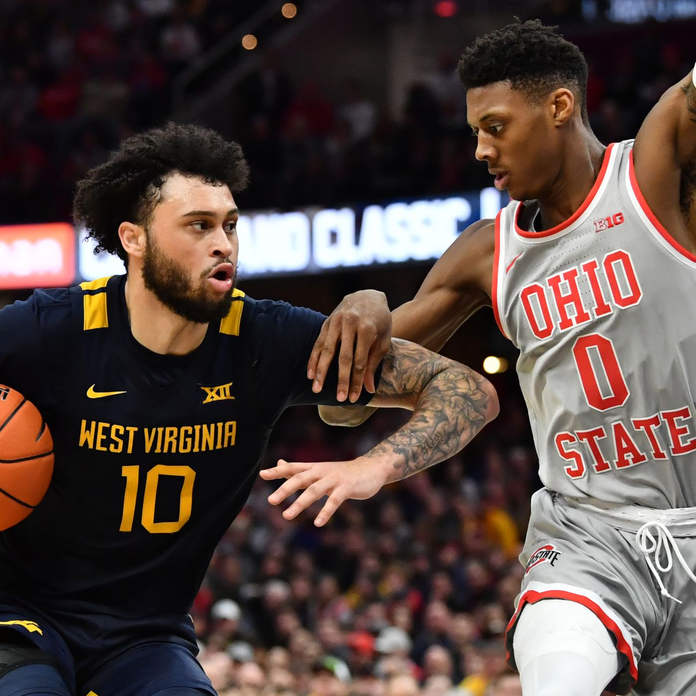 Believeland West Virginia Downs No 2 Ohio State In The