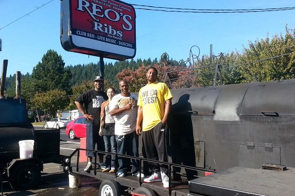 The former Reo's Ribs location on SE Powell