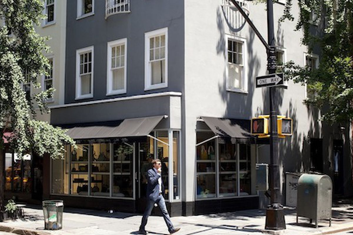 The Marc Jacobs Collection store on Bleecker Street; Photo by Brian Harkin