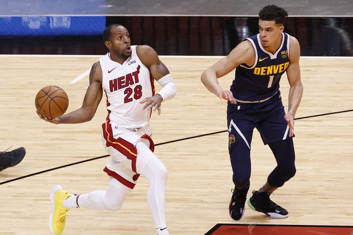 NBA: Denver Nuggets at Miami Heat
