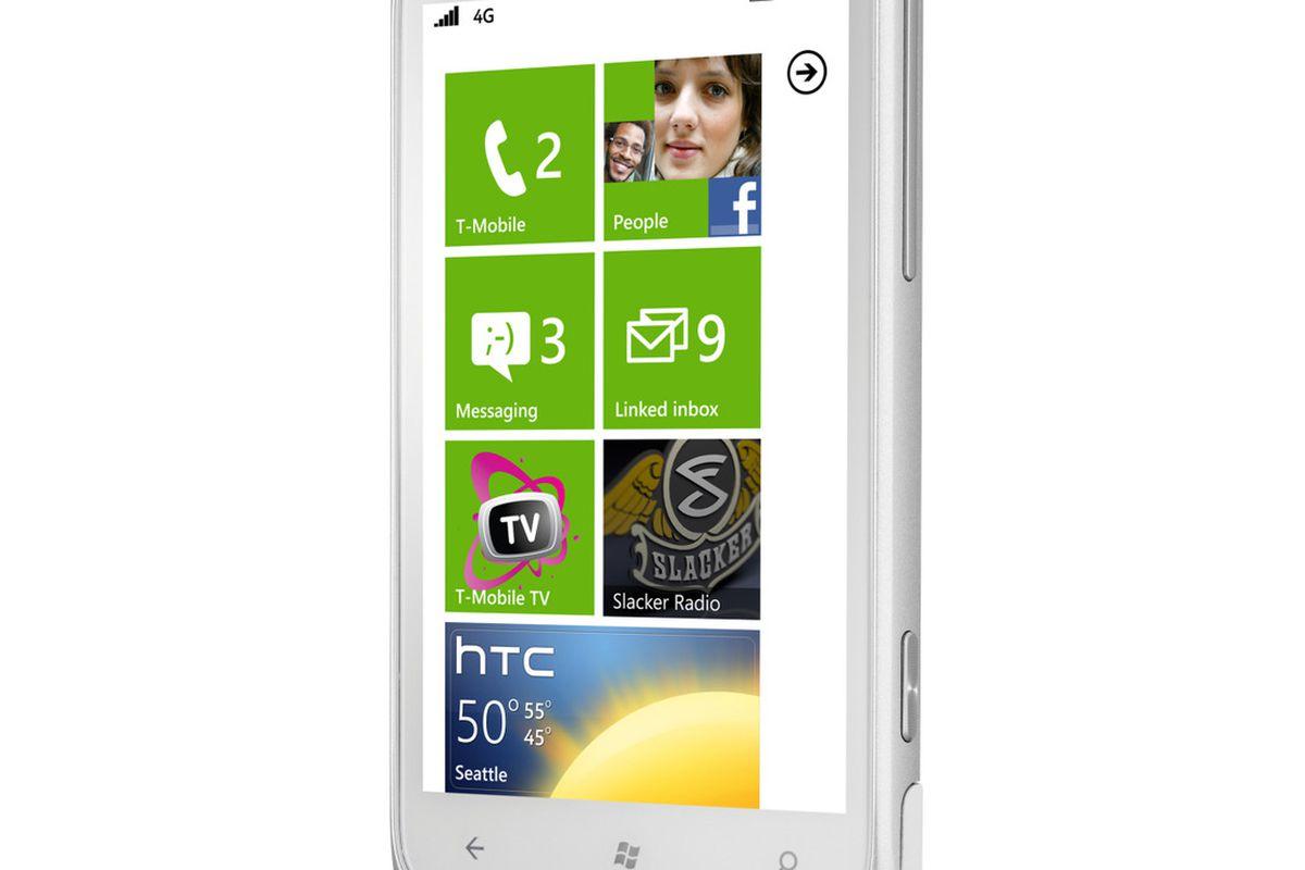 HTC Radar 4G press shot