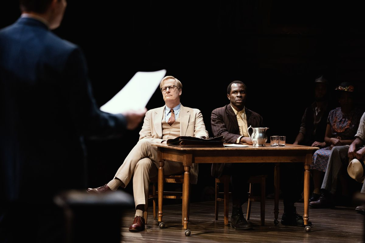 """Jeff Daniels performs as Atticus Finch in """"To Kill a Mockingbird,"""" which had its Broadway debut in 2018."""