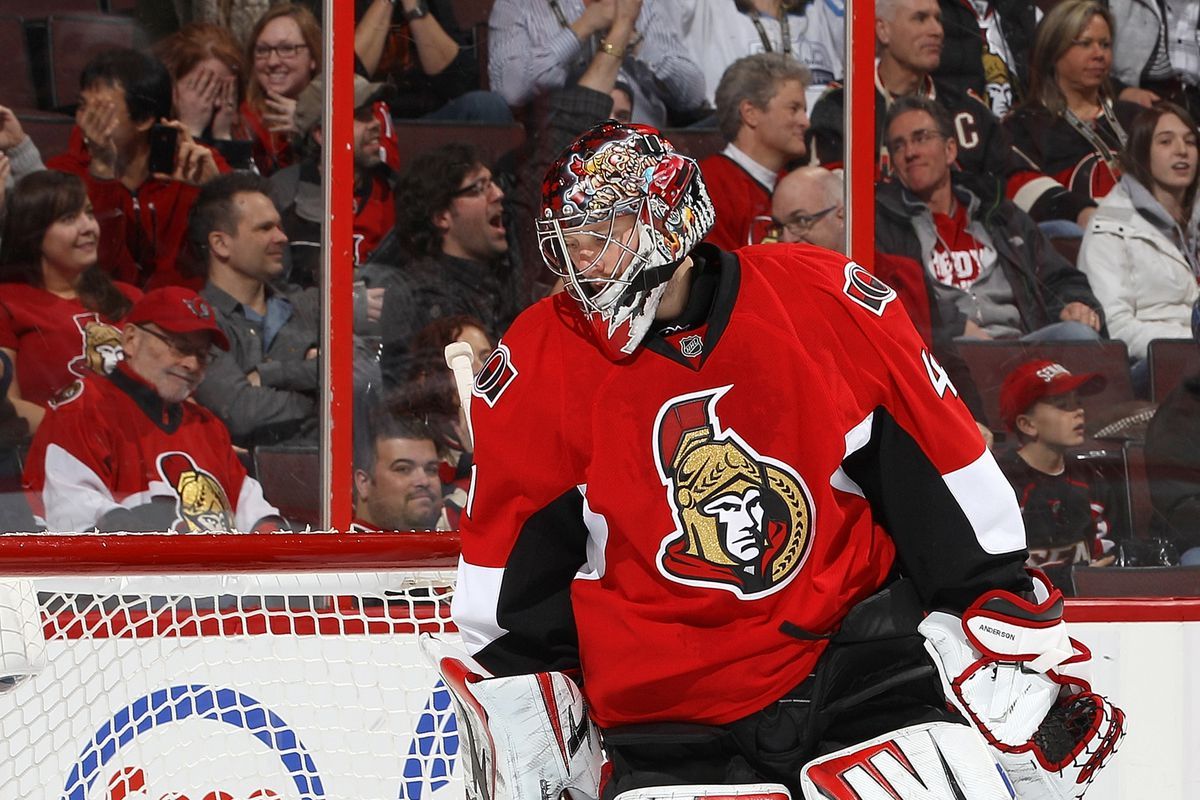 Craig Anderson's play will be crucial.