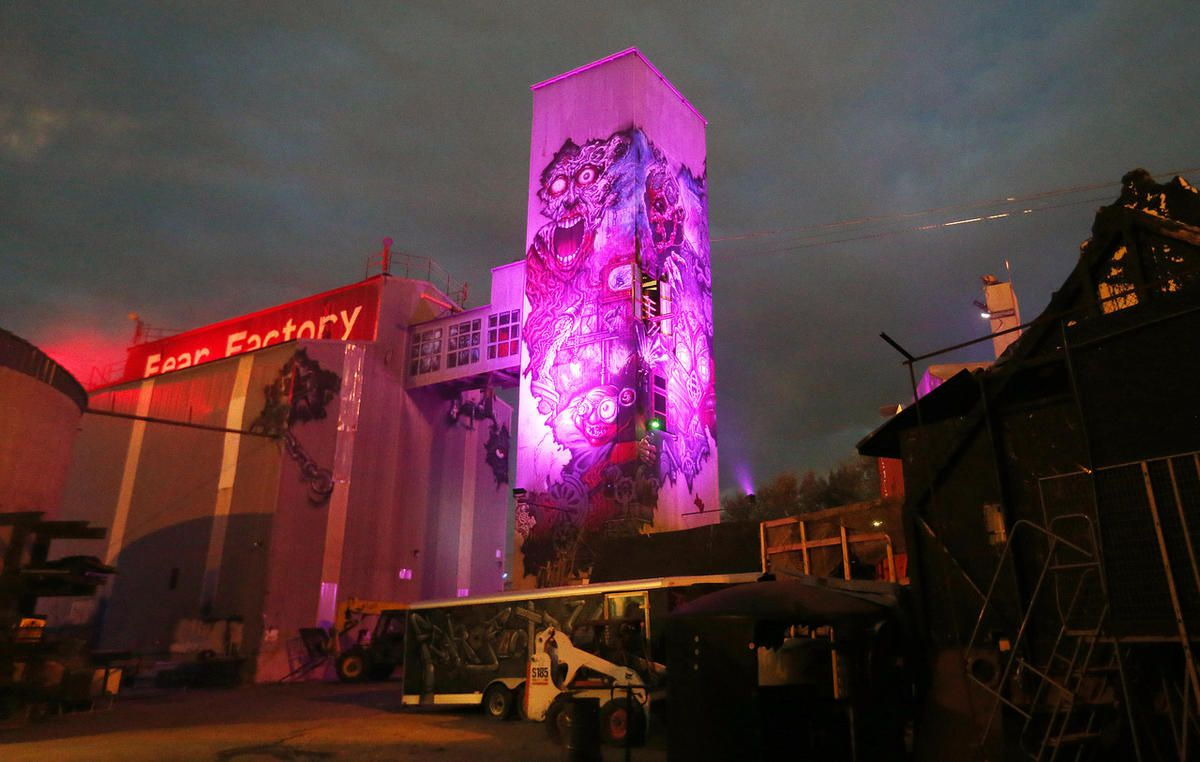Fear Factory in Salt Lake City on Oct. 19, 2017.