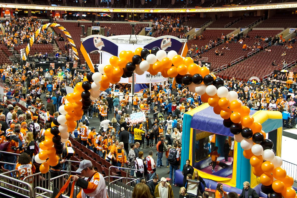 the flyers wives carnival will be in november for its 40th year