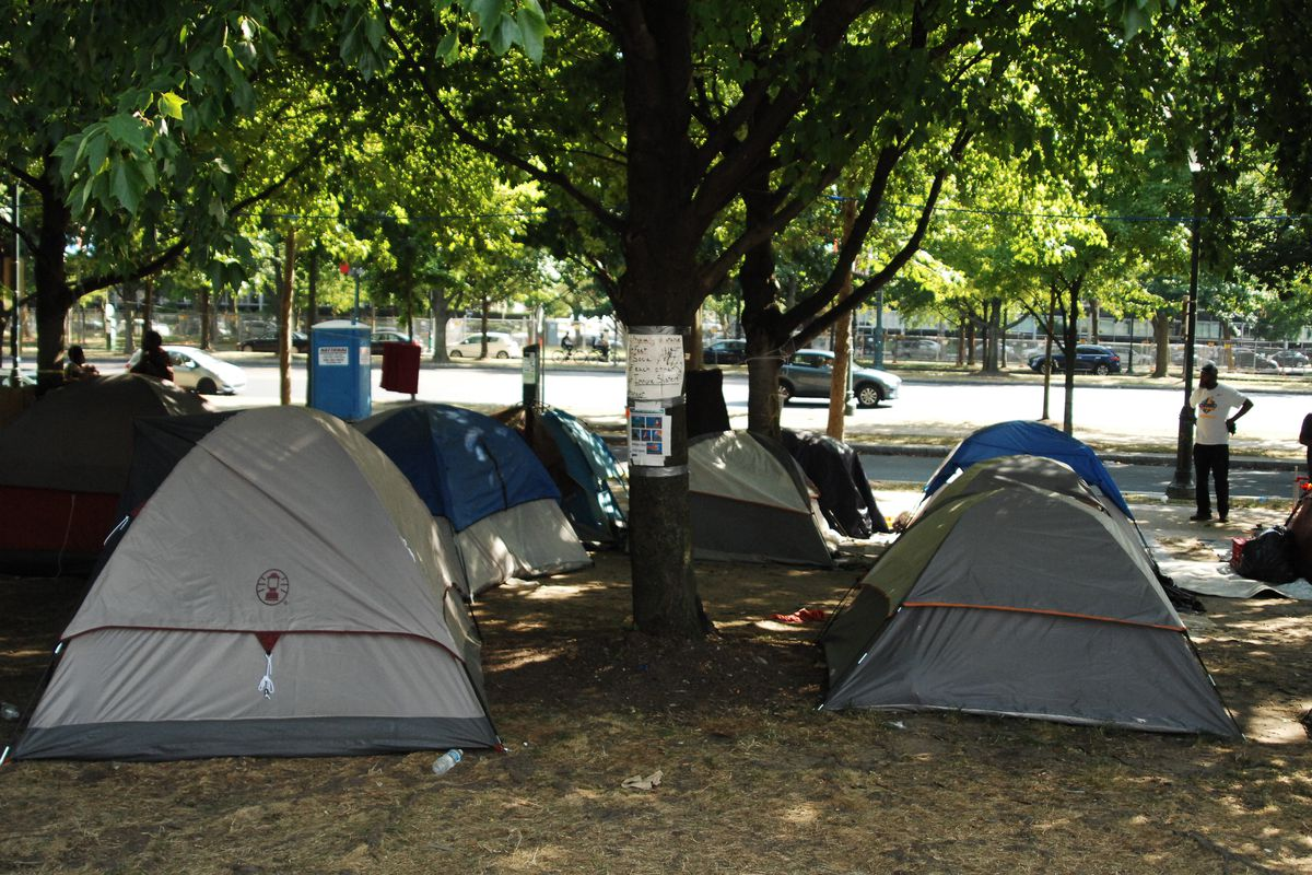Philadelphia Homeless Encampment Brings Need City Needs To The Forefront