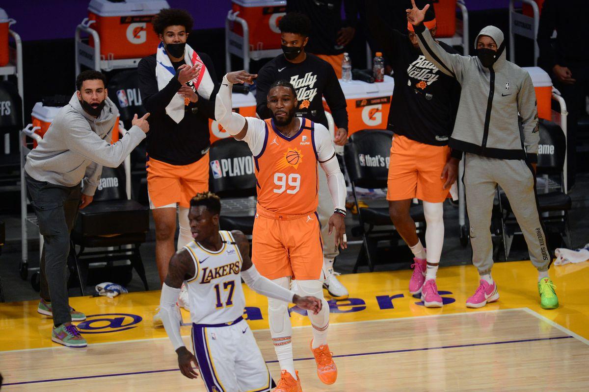 NBA: Playoffs-Phoenix Suns at Los Angeles Lakers