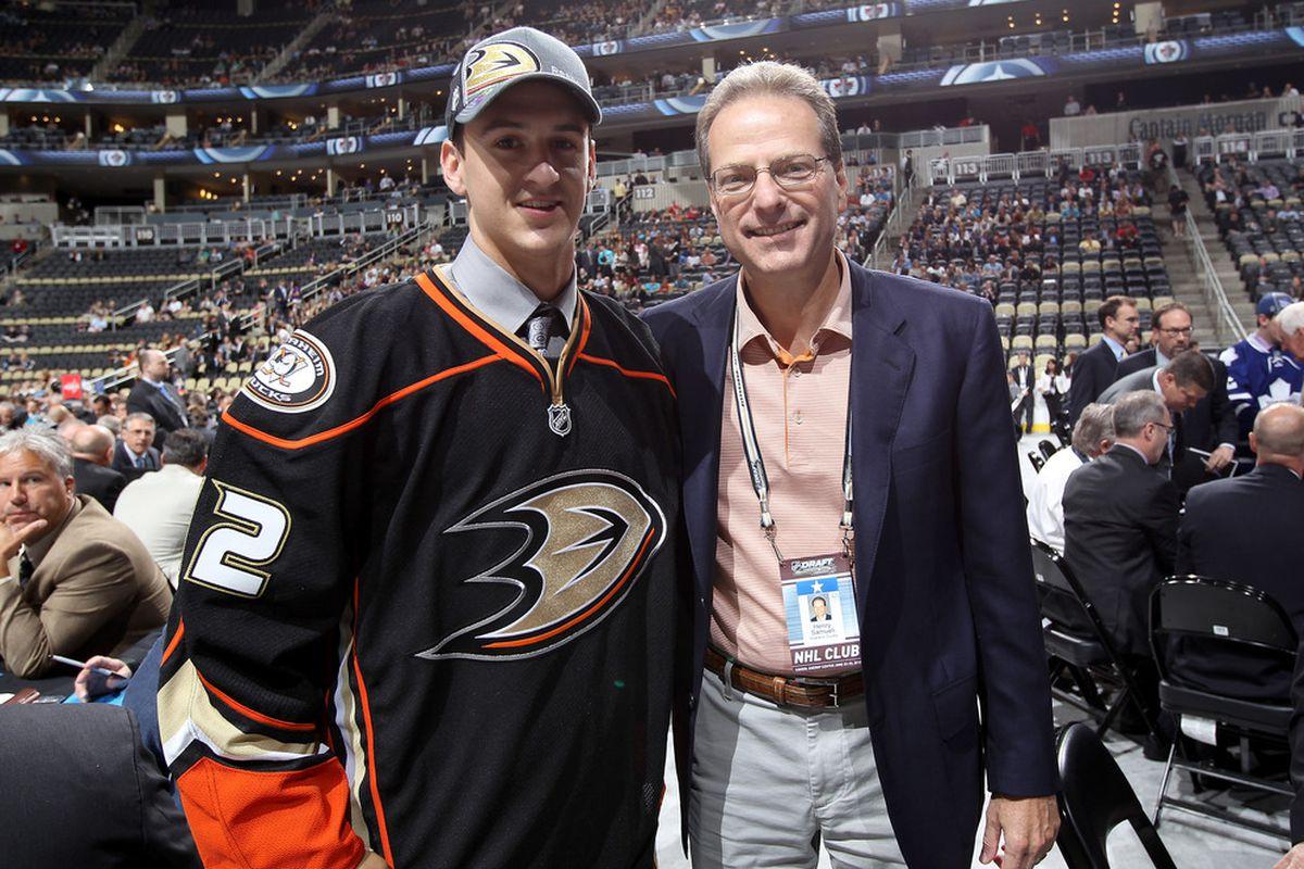 Nic Kerdiles and his new boss's boss's boss. Straight outta Irvine, yo!