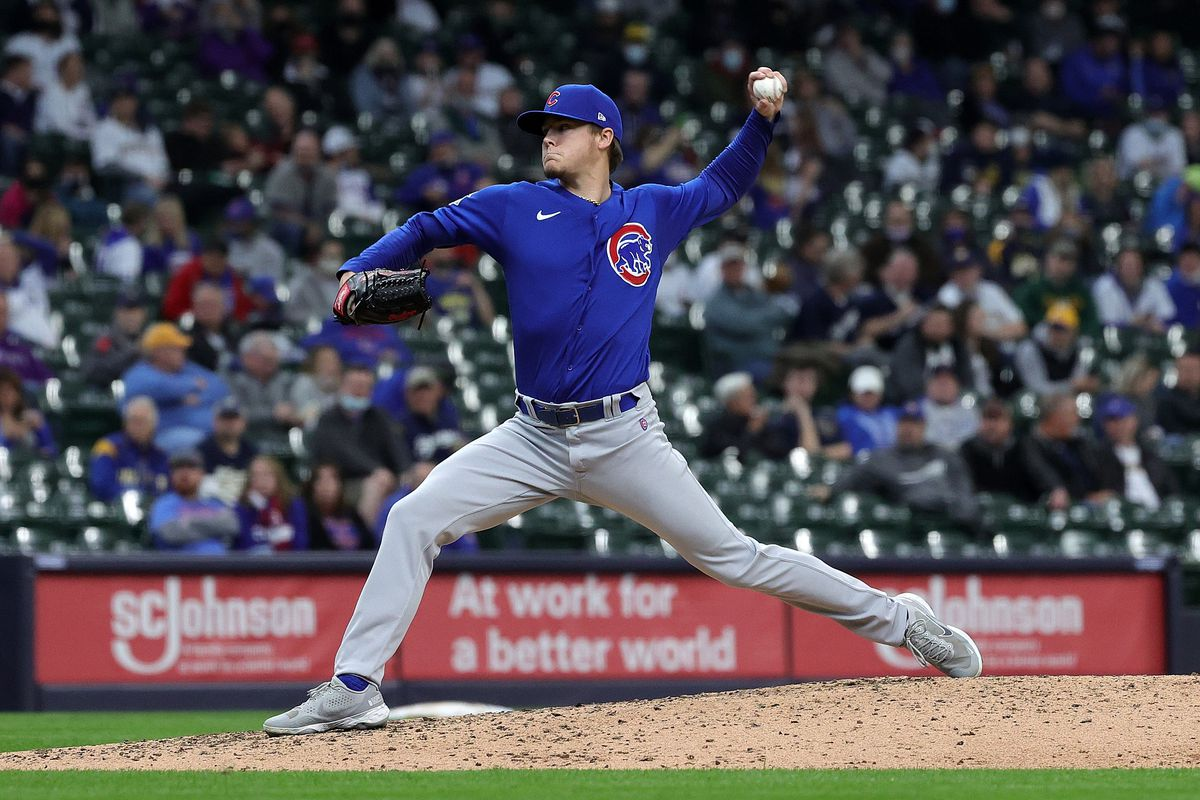 Cubs reliever Justin Steele did well in a bullpen session Sunday.