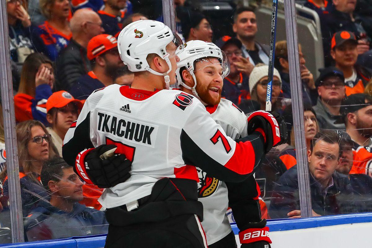 NHL: DEC 04 Senators at Oilers