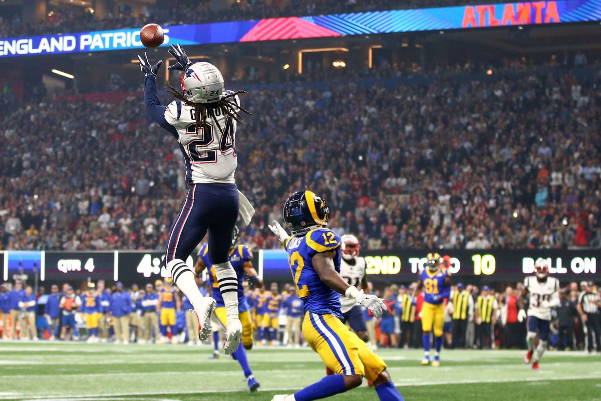 01555ed6 7 dumbest mistakes from Patriots' Super Bowl 2019 win vs. Rams ...