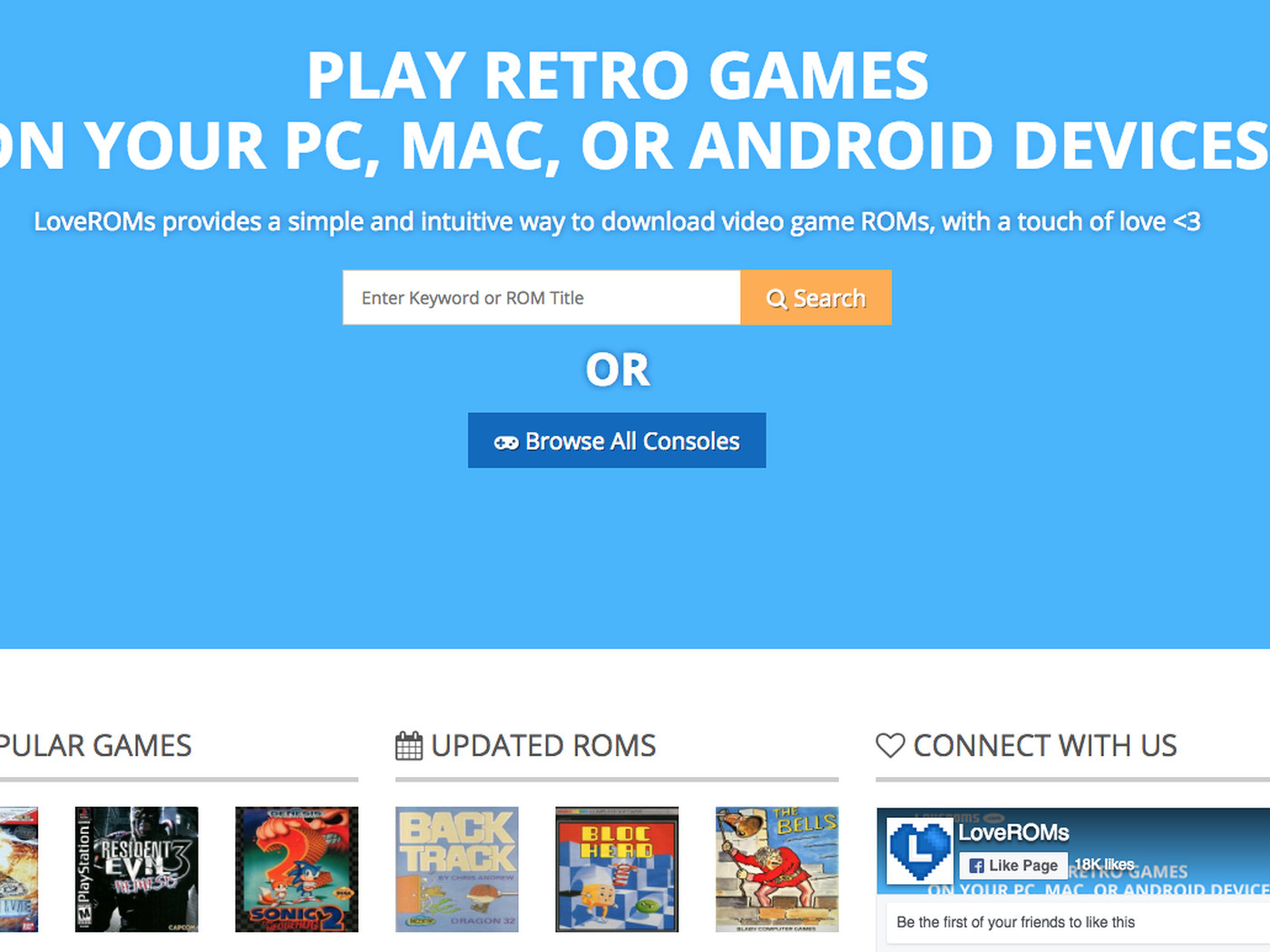 Android Retro roms