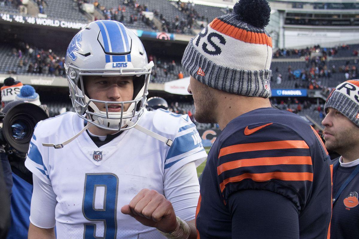 NFL rivalry history: Detroit Lions vs  Chicago Bears, Random