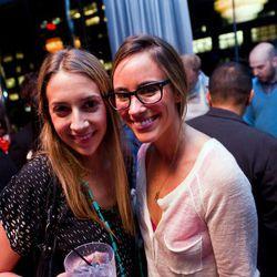 Eater LA's Kat Odell (right).