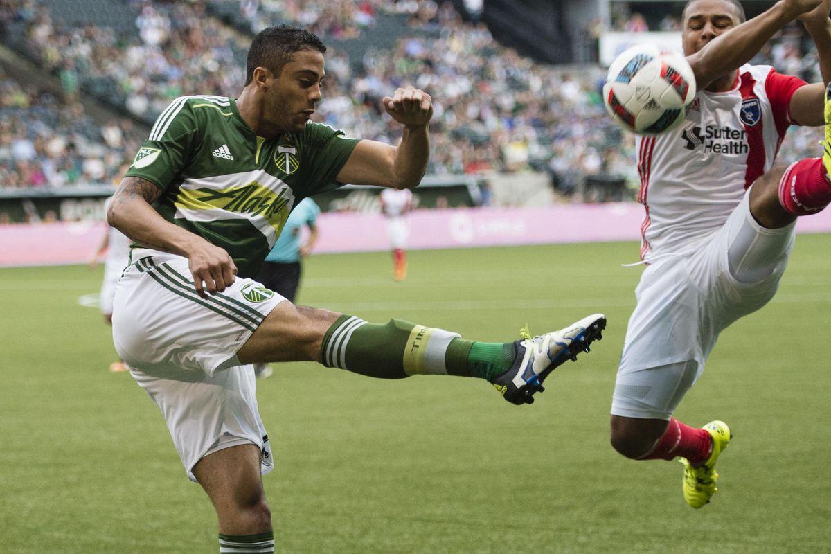 MLS: San Jose Earthquakes at Portland Timbers