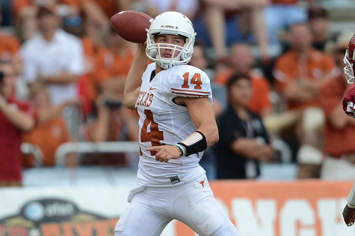 David Ash started 11 of 12 games this season for Texas, but the Longhorns also used Case McCoy in 8 games., and Ash did not play in the  Longhorns' regular season finale against Kansas St. Oregon St. could see either or both in the Alamo Bowl.