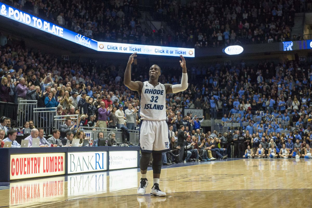 Rhode Island's Jerrell Terrell had a career-high 23 points in the 81-68 victory against the Saint Louis Billikens on Saturday, Feb. 14th, 2015
