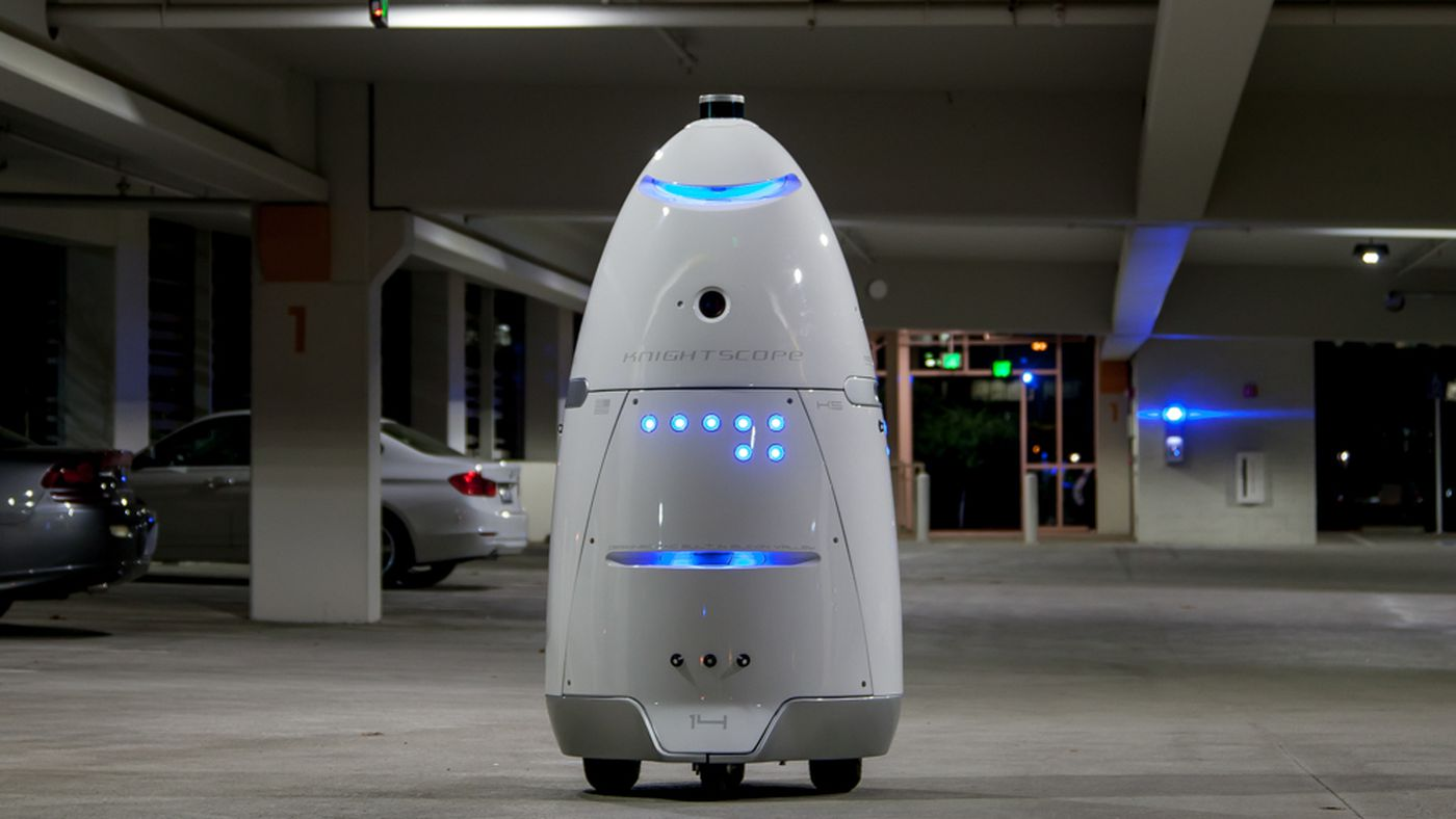 Les robots de sécurité sont des appareils de surveillance mobiles, pas des remplaçants humains - The Verge