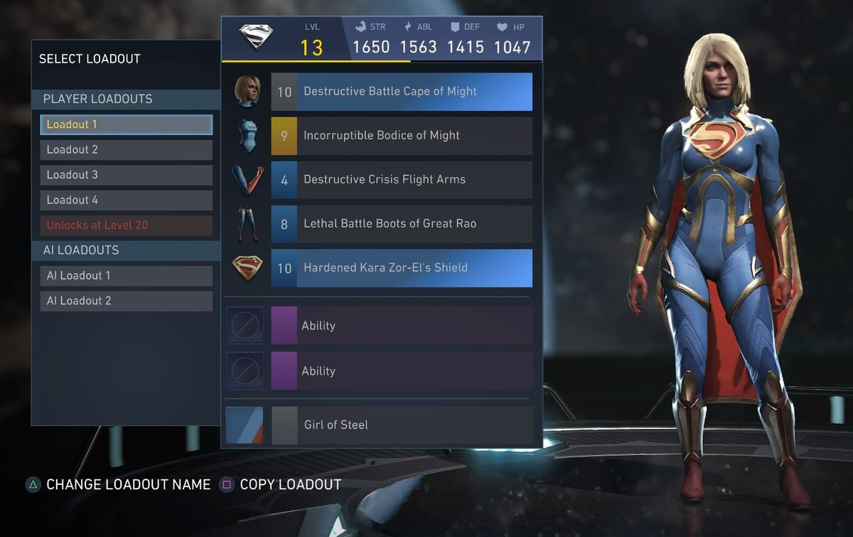 Injustice 2 guide: character level, gear, XP and stats - Polygon